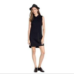 Madewell Black Shirttail Dress